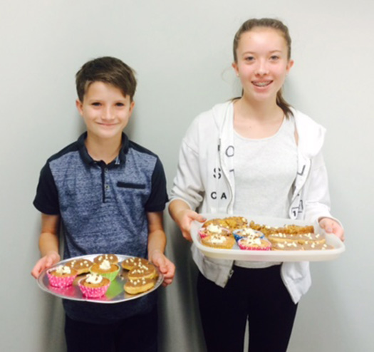 Breakfast morning at Shepherd Distribution in aid of Bluebell Wood