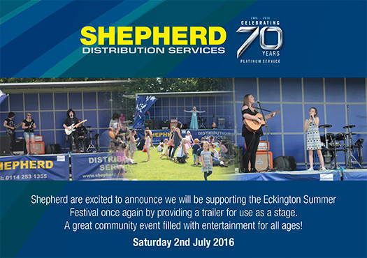 Eckington Summer Festival, 2nd July 2016