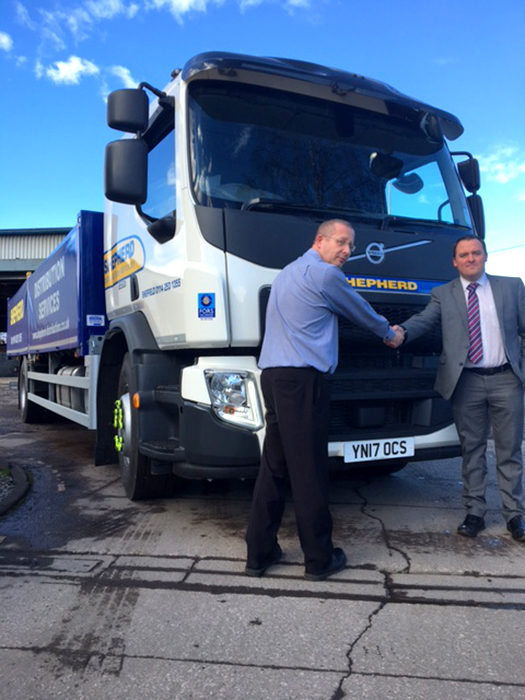 Volvo FE250 I-Shift Softsider