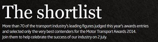 Award short-list